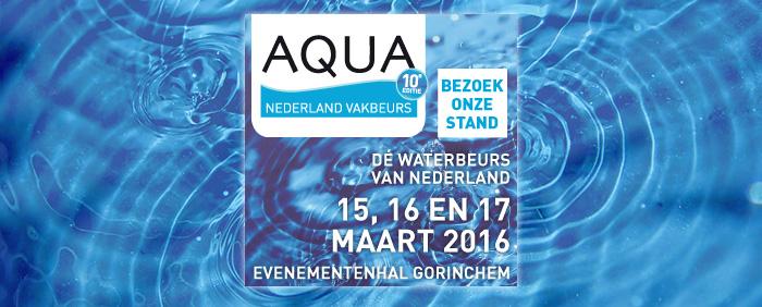 HydroThane will attend Aqua Nederland Vakbeurs 2016